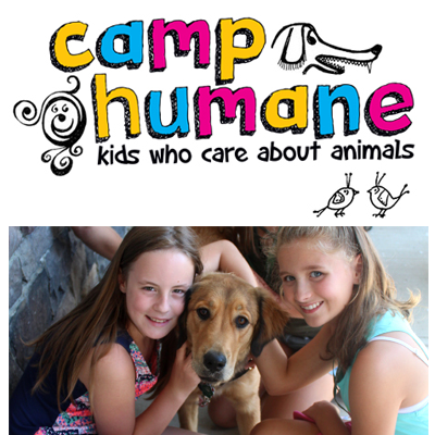 Camp Humane - Kids who care about animals