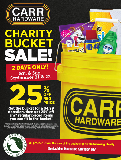 Carr Hardware Charity Bucket Sale @ Carr Hardware